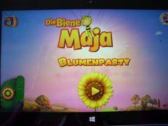 """""""Die Biene Maja Blumenparty"""" App von Zoe und Jamie getestet: http://www.dietestfamilie.de/app-test-die-biene-maja-blumenparty/"""