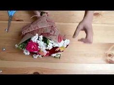 3 способа красиво упаковать букет в крафт-бумагу | ArtHolidays - YouTube