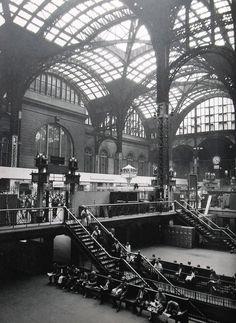 New York City 1960's, Pennsylvania Station.