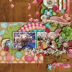 Digital Scrapbook - SAKURA COLLECTION | ForeverJoy