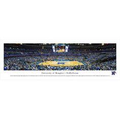 BlakewayPanoramas NCAA Memphis, University of - Fedexforum by James Blakeway Photographic Print