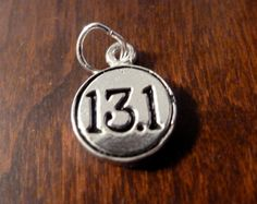 Half Marathon 13.1 Charm by Runwraps on Etsy