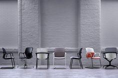 Keyn office chairs for Herman Miller by forpeople at Clerkenwell design week 2016
