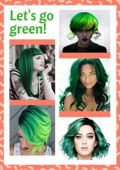 Would you? www.wickedbeauty.com.au #green #greenhair #greenshade #letsgogreen #wickedbeauty