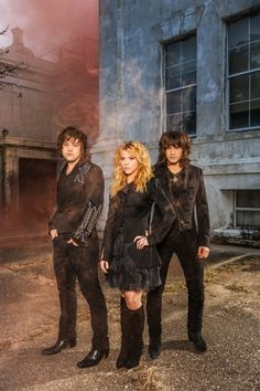 The Band Perry looking awesome!