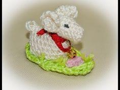 ▶ Baranek Wielkanocny na szydełku / Lamb Easter crochet - YouTube