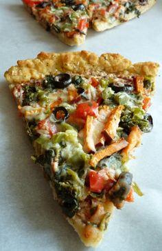 Flour Arrangements: Gluten Free Pizza! Perfect on an Absolutely Gluten Free Flatbread! Make it Gluten Free and Visit www.Absolutelygf.com #Glutenfree