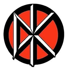anyone who claims to be punk must know what this symbol represents, and if not then you're not punk. This symbol is very nicely designed, I actually have a post of it on my wall, and believe its one of the best corporate identity.
