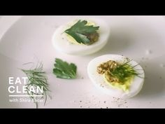Protein Packed Hard-Boiled Eggs with Mustard - Eat Clean with Shira Boca...