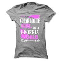 Charlotte Girl in a GEORGIA World
