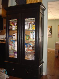 armoire to pantry