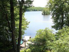 Big Bass Lake House lakefront Chalet,