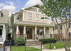 Beautiful Craftsman-style home located in Houston Heights.