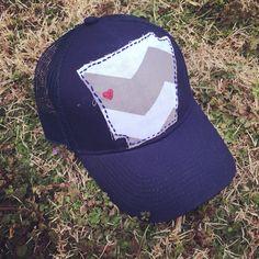 Arkansas baseball hat by KatrinasKreations23 on Etsy