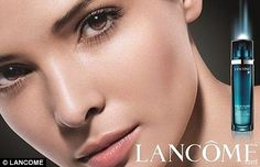 Tunisian beauty: Muslim Hanaa Ben Abdesslem is now a face of Lancome - but will girls need to expose flesh to succeed in fashion? World Of Fashion, High Fashion, Model Face, Muslim Women, Model Agency, People, Lancome, Beautiful, Girls