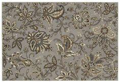 AreaRug Jillian's Garden - 3VD49 - Silver - Flooring by Shaw