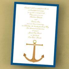 Nautical Dream - Invitation