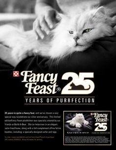 Fancy Feast ad campaigns on Behance