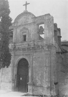 Antiguo templo de La Purísima.