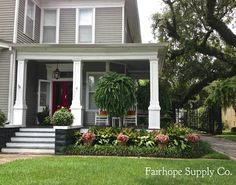 Front Porch Ferns in Mobile, Alabama- Fairhope Supply Co.