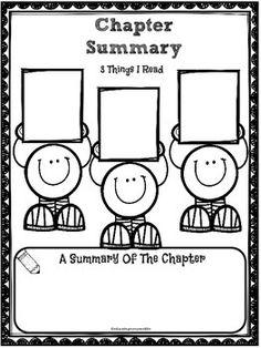 FREE Summary Graphic Organizer