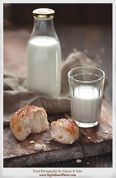ensphere:    Milk and Bread by Food Photography by Alexey & Julia on Flickr.