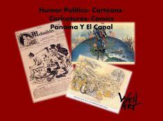 Catalogo de humor politico, cartoons, caricaturas, comics del Panamá y el Canal - Disponible en Weil Art