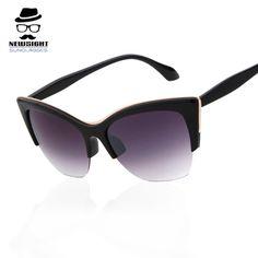 b1f0864fc6c Steampunk Glasses 2016 Cat Eye Sunglasses Fashion Retro Ladies Black Brand  Vintage Oculos Masculino Gafas De Sol Sun Glasses