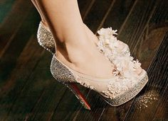 Christian Louboutins; the ultimate heels, freaking gorgeous. ♥