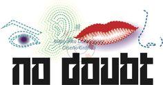 Logo inspirado en el grupo No Doubt