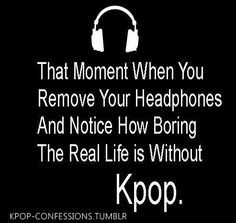 Nope, I still hear the song after I take off the headphones....god, I still hear B2ST's 'Fiction' in my head.