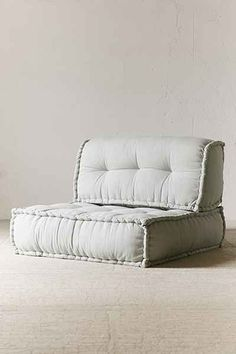 "Reema Floor Cushion - Urban Outfitters - 38""x38"" - Grey - $198 / back cushion $98 - need three bottom cushions and three back cushions = $888"