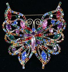 Big Weiss Butterfly Pin