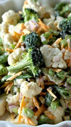 Fresh Spring Broccoli Salad