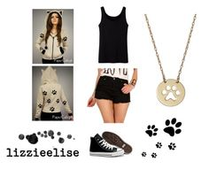 """""""Untitled #29"""" by kajo999 ❤ liked on Polyvore featuring Uniqlo and Converse"""