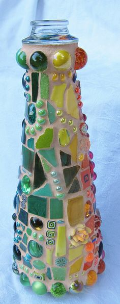 Mosaic Rainbow Bottle | Flickr - Photo Sharing!