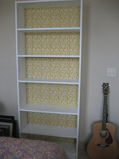 cardboard furniture I'll Take Two: Bookshelf Red- DIY with cardboard and fabric! Easy and cheap:) Te Salon Furniture, Furniture Makeover, Diy Furniture, Restoring Furniture, Furniture Projects, Old Bookcase, Bookshelves, Bookshelf Diy, Billy Bookcases