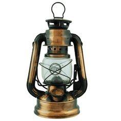 Wilcor Hurricane Lantern 7.5-inch (Uses Lamp Oil or Kerosene): Home & Kitchen