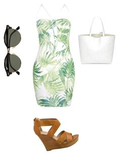 """""""Untitled #388"""" by ioannicoleta99 on Polyvore featuring Boohoo, Seychelles and Ray-Ban"""