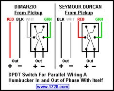 dimarzio single humbucker wiring diagram albumartinspiration