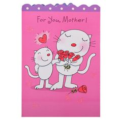 Mom I Loves You A lot Card