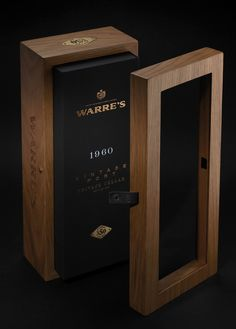 Wooden Wine Boxes, Wooden Containers, Bottle Packaging, Custom Packaging, Packaging Suppliers, Stone Texture, Foil Stamping, Packaging Design Inspiration, Cellar