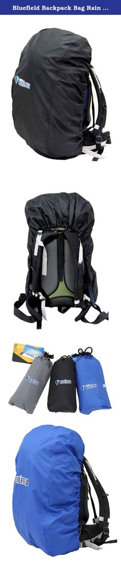 bd9c8ab1457a Bluefield Backpack Bag Rain Cover for Outdoor Hiking Travel Water Resistant