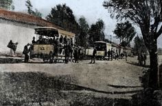 Bogota Light Rail, Antique, History, American, World, Photography, Old Photography, Latin America, Antique Photos