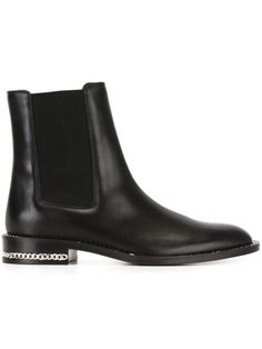 GIVENCHY Chain Trim Chelsea Boots. #givenchy #shoes #boots