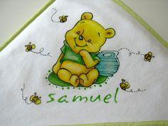 bebé & companhia: toalhas de banho do samuel
