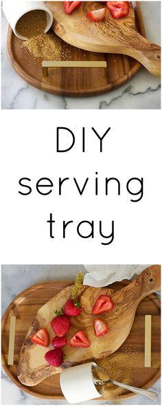 DIY Serving Tray - Claire Brody Designs