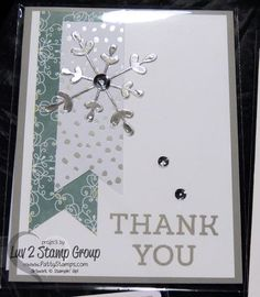 Holiday Thank You by Patti Bennett; details here: http://www.pattystamps.typepad.com/pattys_stamping_spot/2014/12/fabulous-holiday-card-ideas.html?utm_source=feedburner&utm_medium=email&utm_campaign=Feed%3A+PattysStampingSpot+%28Patty%27s+Stamping+Spot%29