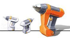 power tools industrial design - Google Search Conceptual Drawing, Plastic Moulding, Industrial Design Sketch, Blow Molding, Porsche Design, Cool Sketches, Picture Design, Power Tools, Tool Design