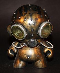 Aqua Robot Munny